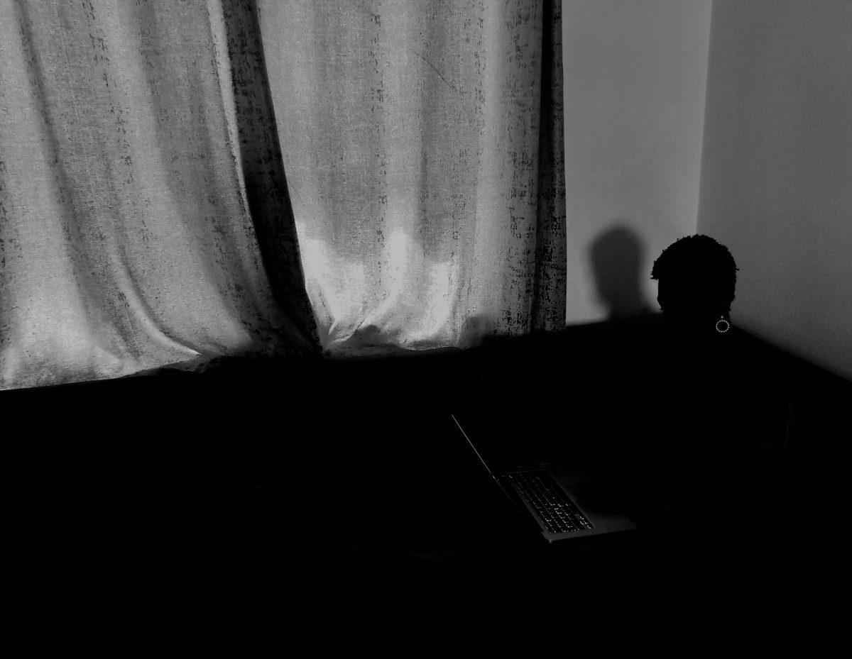 Tobi's silhouette